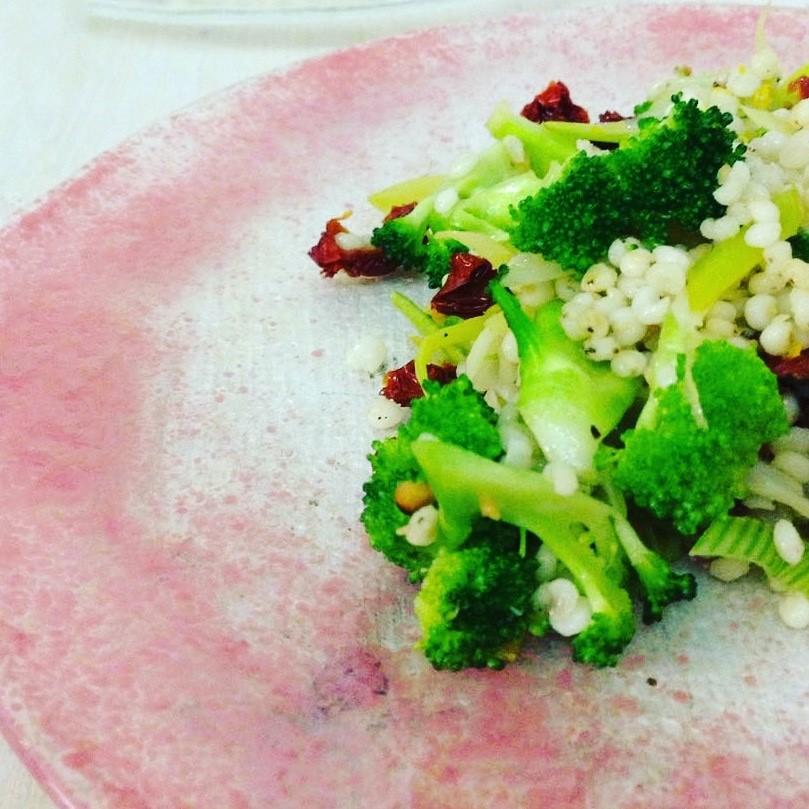 sorgo e broccolo